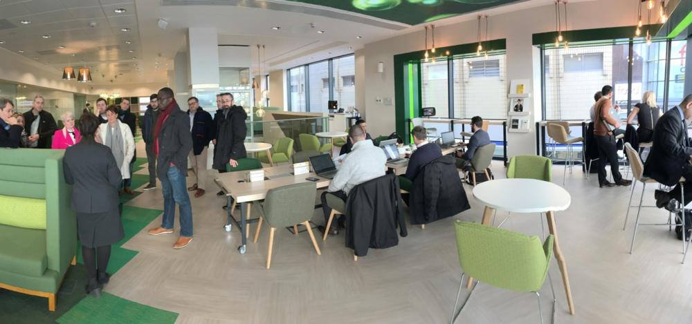 The Business Hub, Lloyds Bank, Manchester