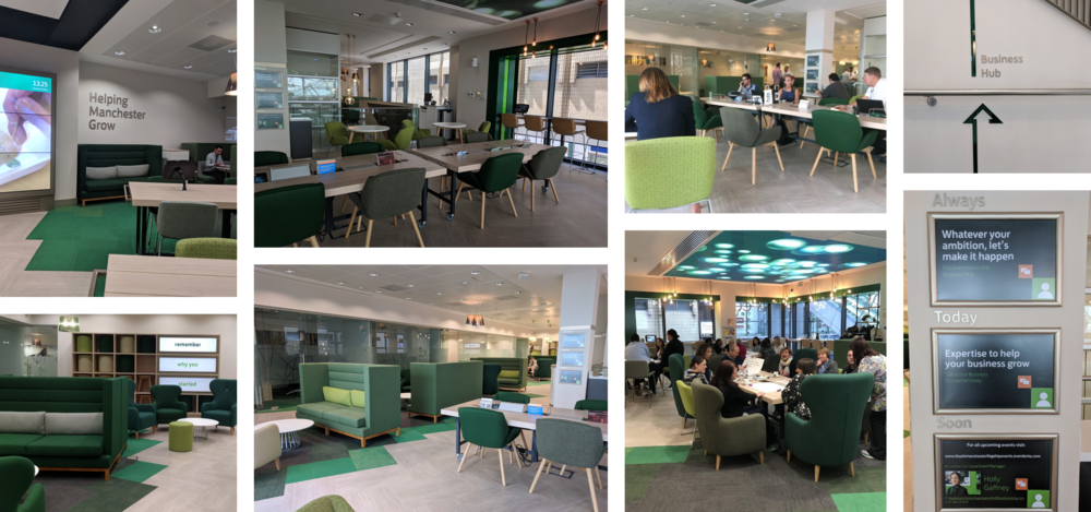 Comfortable and private working areas, a professional meeting space, free Wi-Fi, expertise on hand, networking opportunities