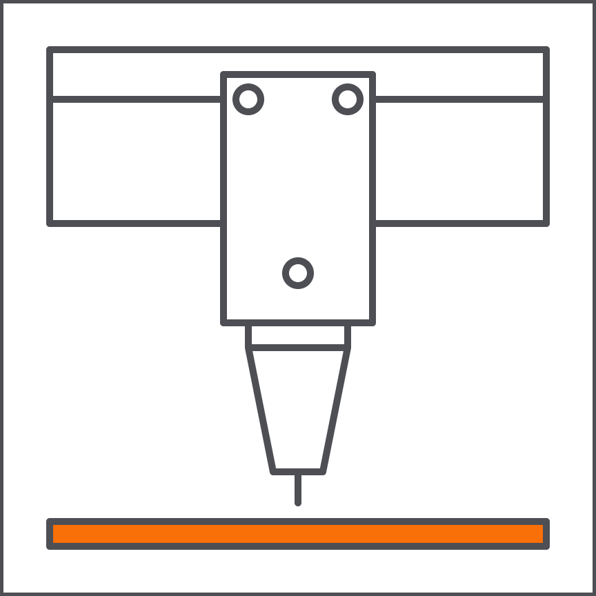 """Laser Cutting 18""""x32"""" 150 Watt    Universal PLS 6.150D"""