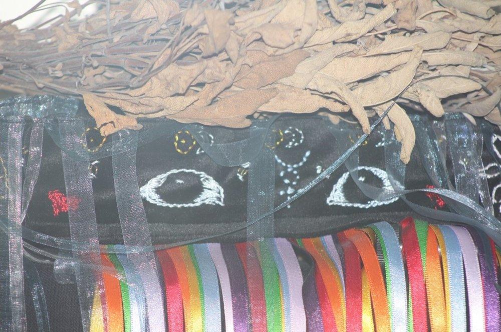 Shamans Mask Healing Lavendar