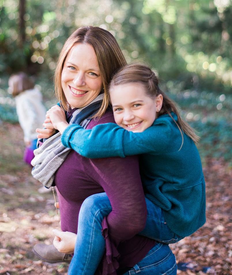 Sara Flood   (and her oldest daughter)