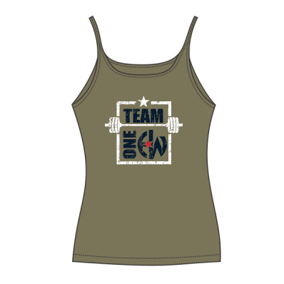 - Team One EW - CANVAS Ladies' Slouchy Tank $27.50