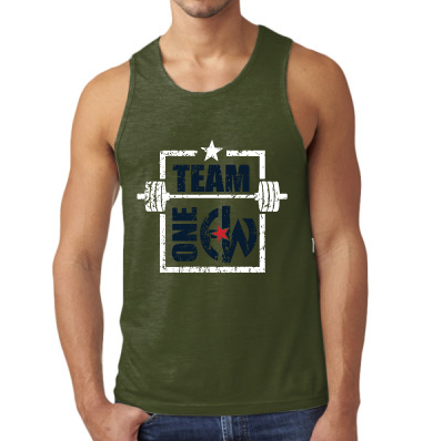 - Team One EW - Next Level Men's Tank $27.50