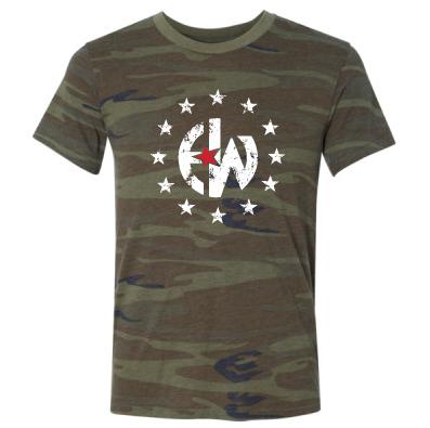 - EW Camo - Camo Crew T-Shirt $35.00