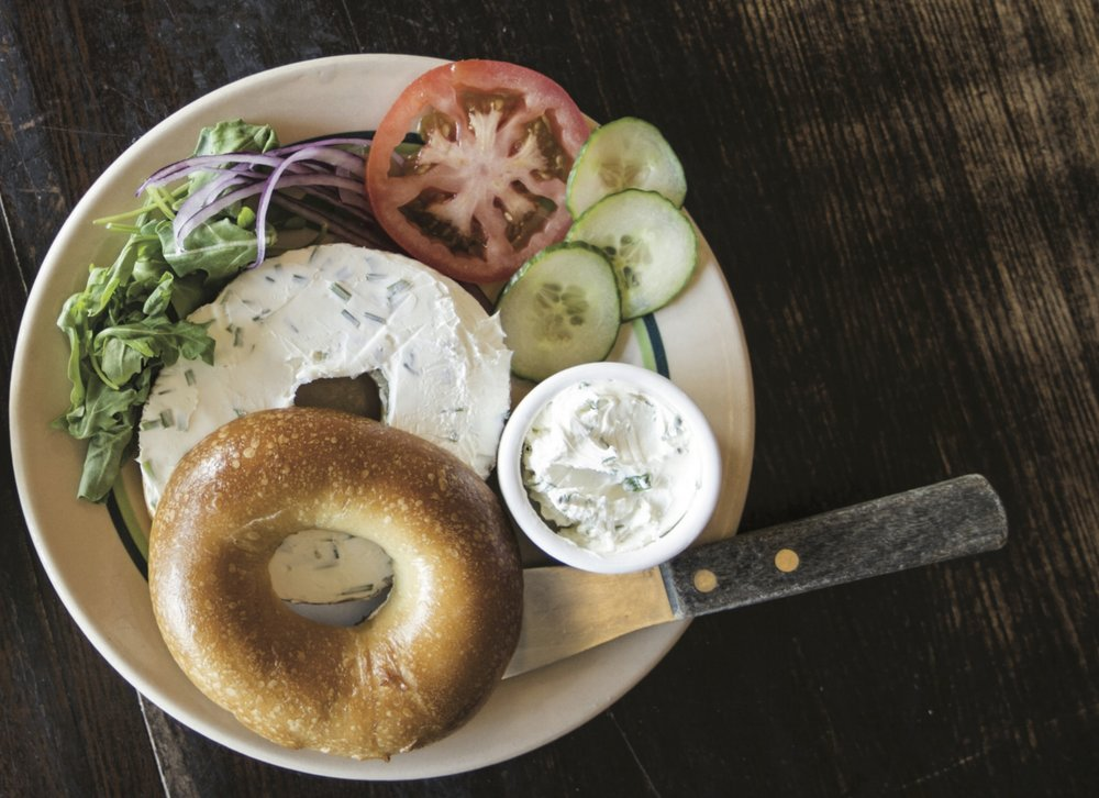 Bagels - If it isn't boiled, it isn't a bagel. Uniquely, we use milk and honey in the recipe for a distinct crust and deliciously chewy center.Most importantly they are leavened with sourdough, accomplishing an inimitable flavor profile.Click here for a full list of flavors.