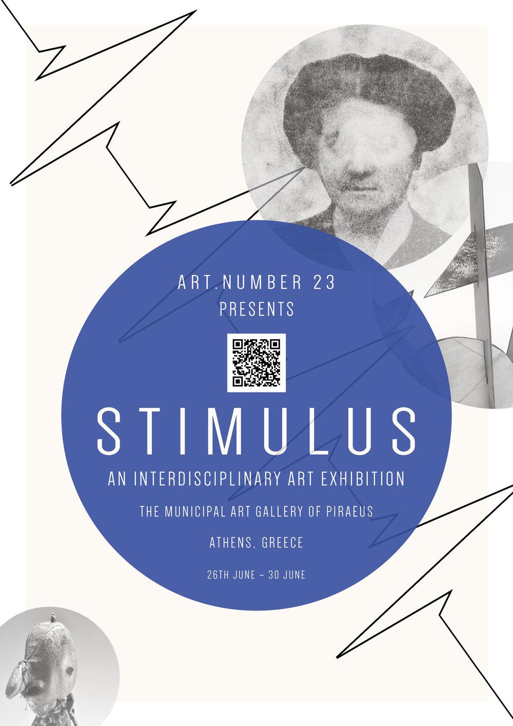 Stimulus Exhibition – Athens, Greece, Municipal Art Gallery of Piraeus Final Poster.jpg