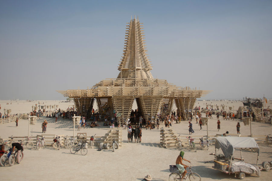 The Temple, Burning Man 2017