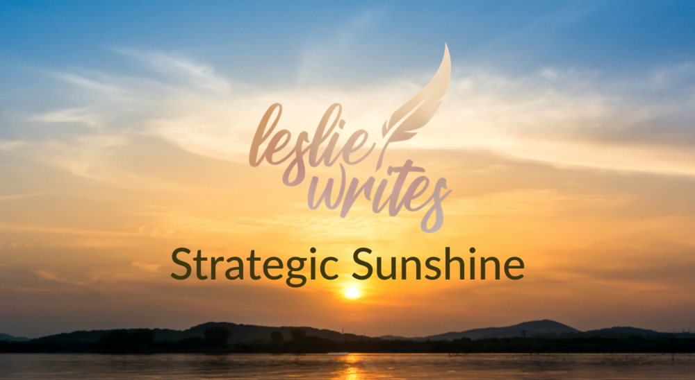 "Leslie Gordon is a marketing & communications expert, business leader and critical thinker also known in some circles as ""Strategic Sunshine."" Those who know, know."