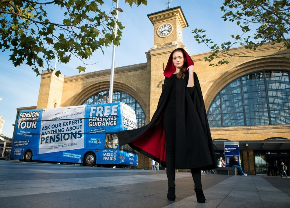 Amber Martinez - The Face of Scottish Widows