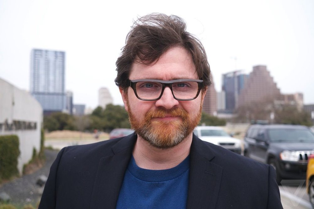 Ernest Cline - Photo shared from  The Verge