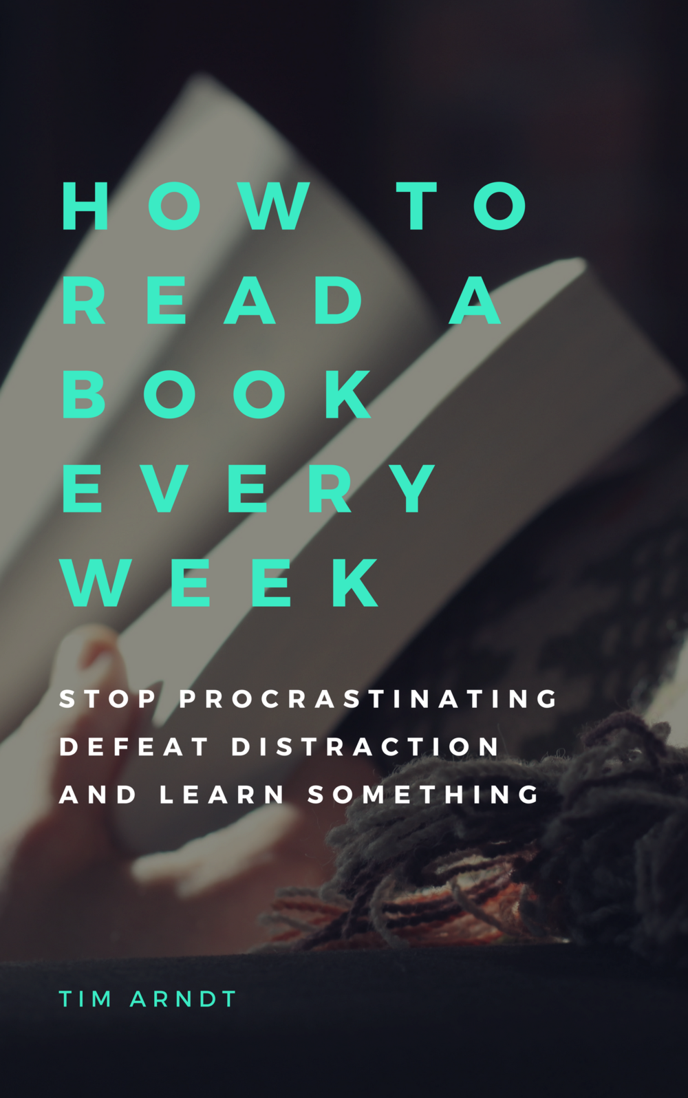 Be the reader you want to be starting today. - In less than 15 minutes you will have all the necessary tools to easily read over 50 books in a year. It doesn't matter if you're a slow reader like me. I'll show you how to beat distractions and get reading.Subscribe to get your free copy today.