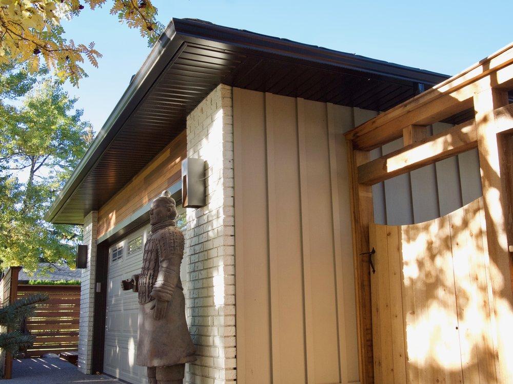 Lovely Exterior Design: Garage/Entry