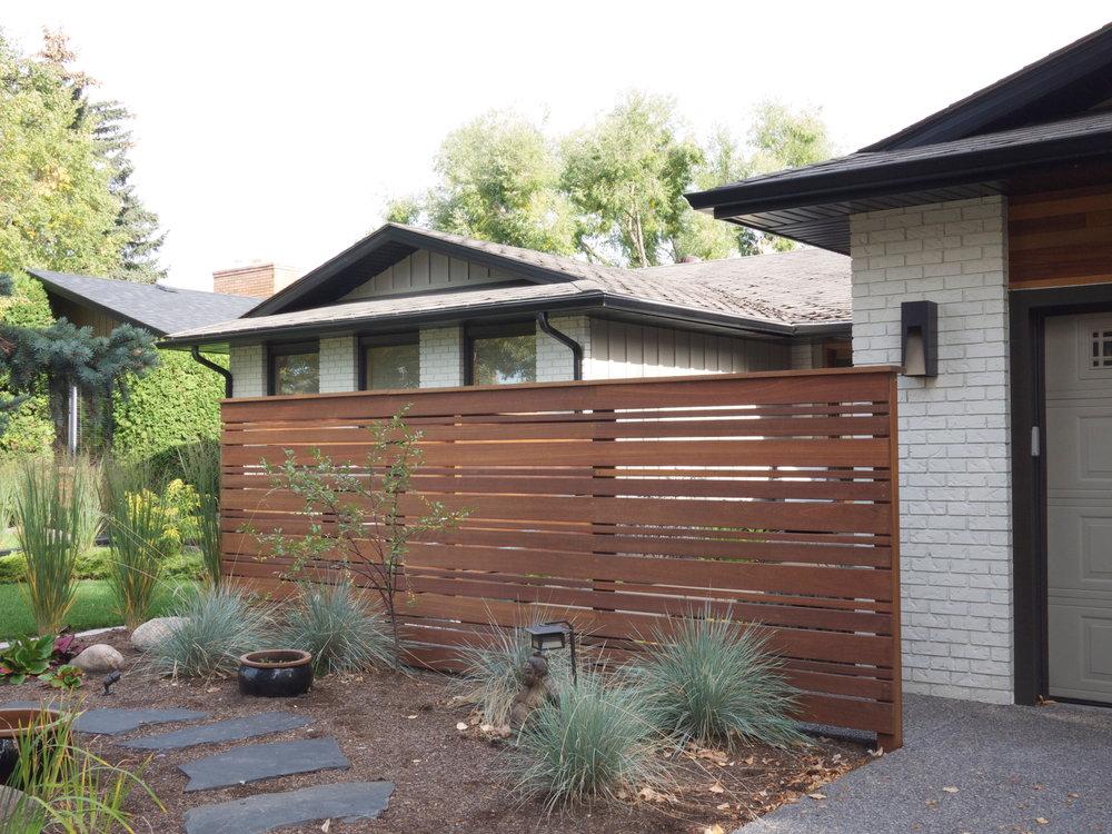 Exterior Design: Garage