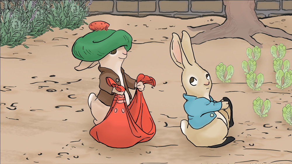 The Tale of Benjamin Bunny by Beatrix Potter, for myRead