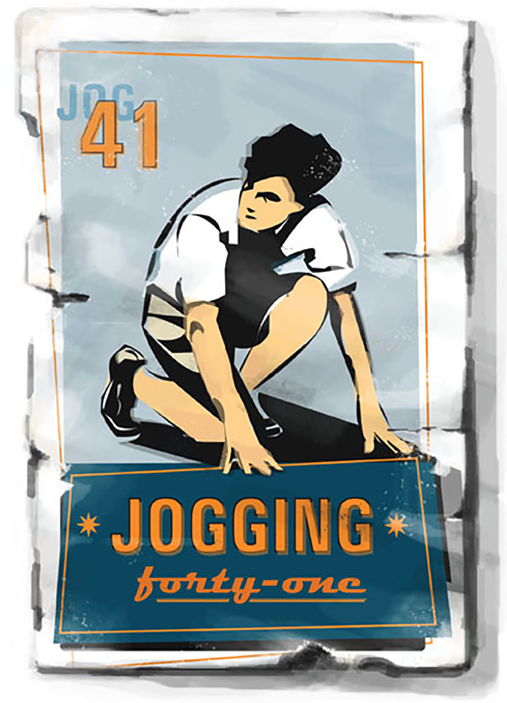 Splash Image for Jogging 41, for BYU Independent Study