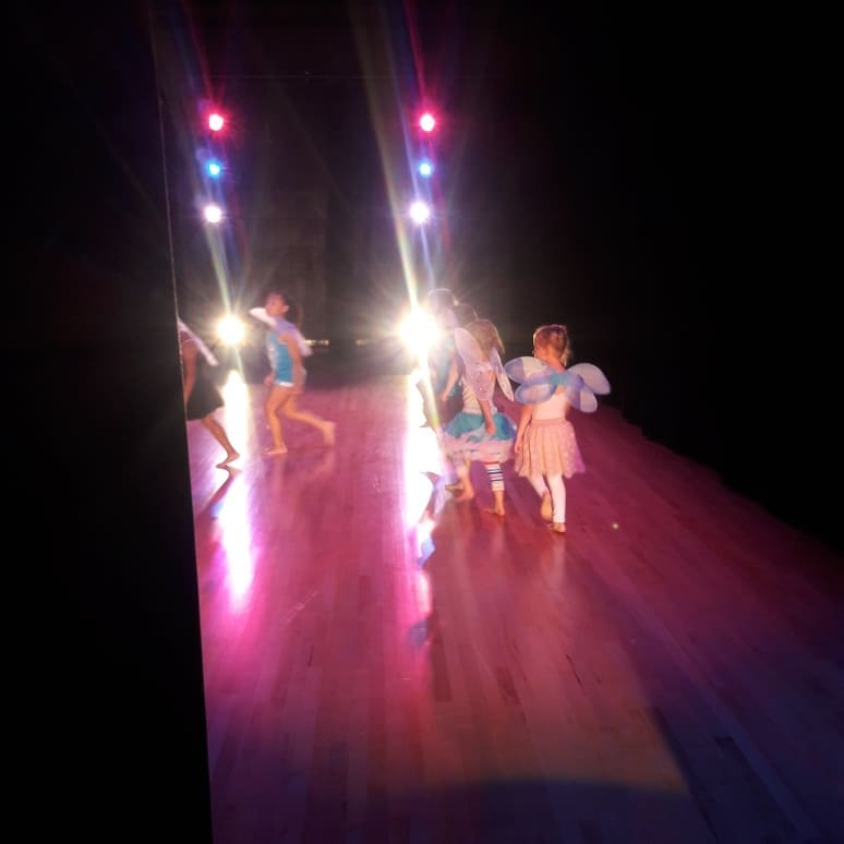 Dance Fundamentals (ages 5-6) on stage