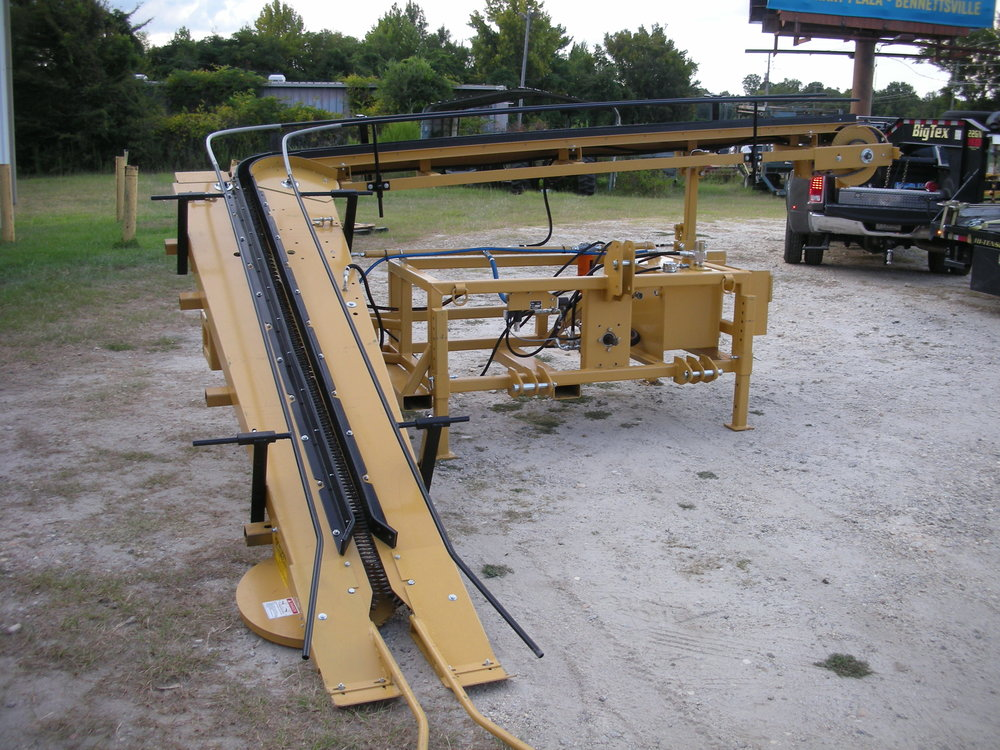 Powell 6027 Tobacco Harvester Powell 6031 Hemp Harvester  Powell Hemp Harvester, High-CBD Hemp Harvest, Hemp Harvest Machine, Whole Plant Harvester  Burley Tobacco, Burley Harvest, Powell, Powell Harvester, Marco Manufacturing