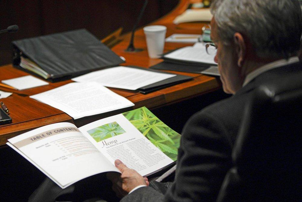 Legalized hemp touted as new Nebraska crop option (2/19)