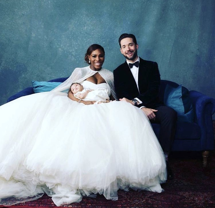 LOVE AND THERAPY — The Magical Wedding of Serena Williams and Alexis ...