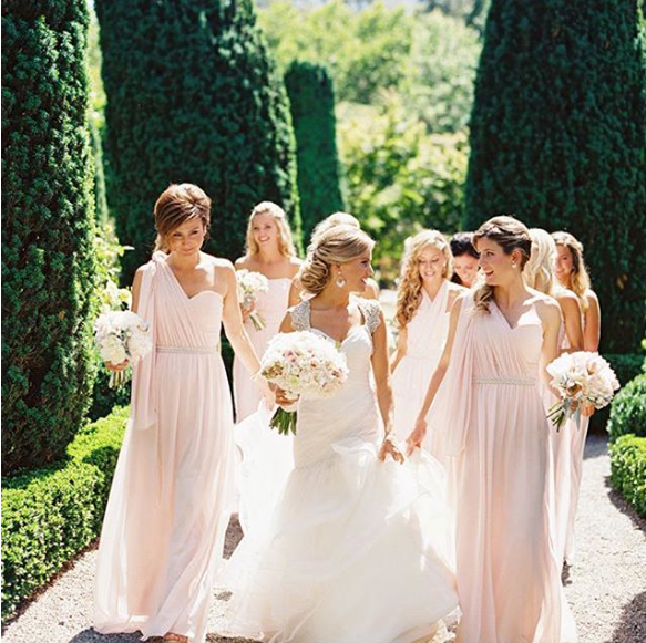 Beaulieu Garden Blush Wedding   PHOTOS COMING SOON