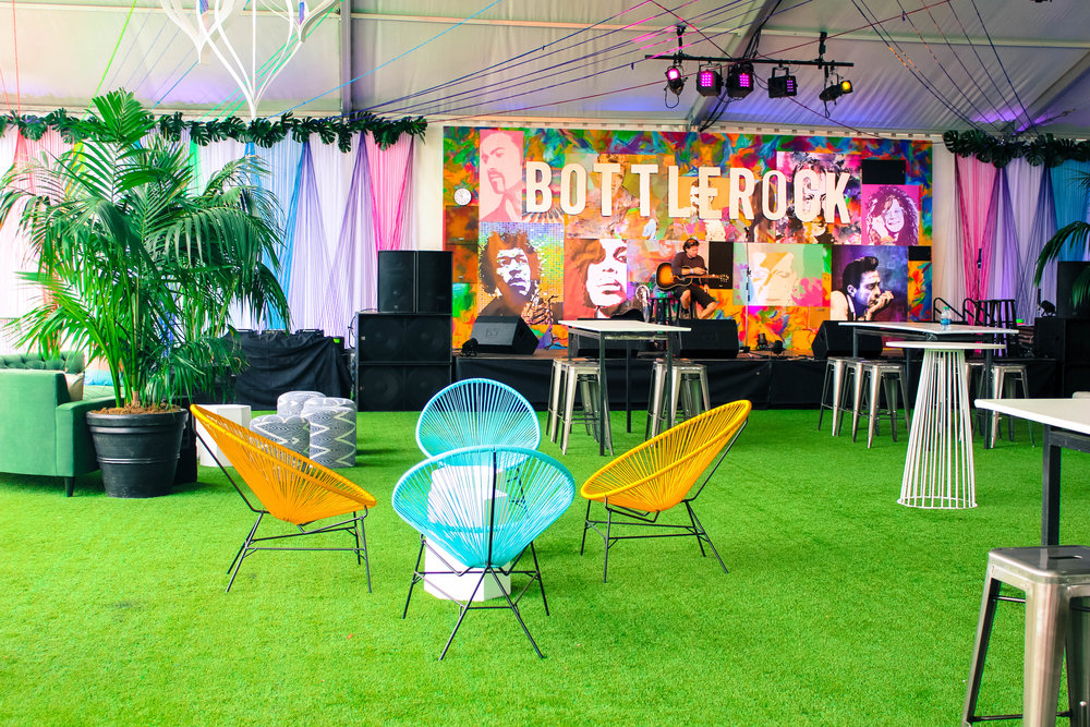 Bottlerock 2017 VIP Lounge Design   PHOTOS COMING SOON