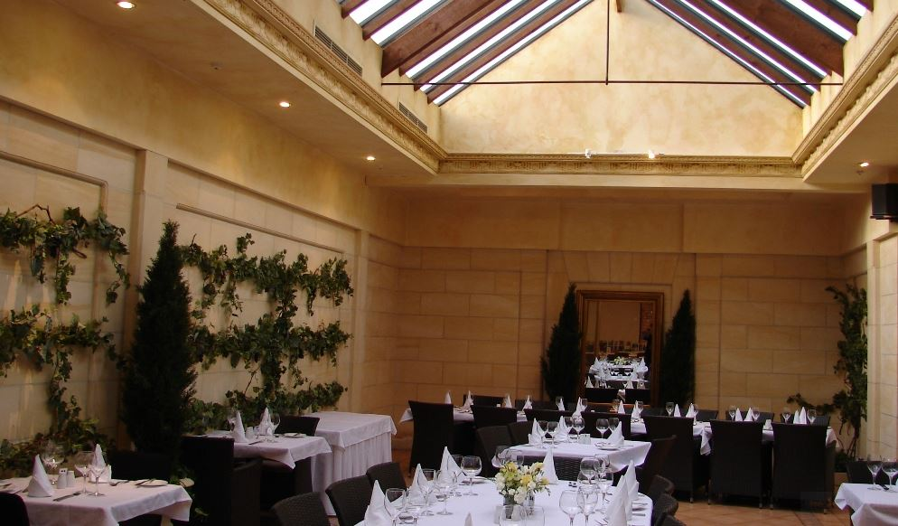 THE ORANGERY RESTAURANT, QUALITY HOTEL PLYMOUTH INTERNATIONAL -