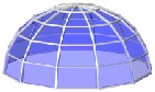 Segmented Dome Skylights