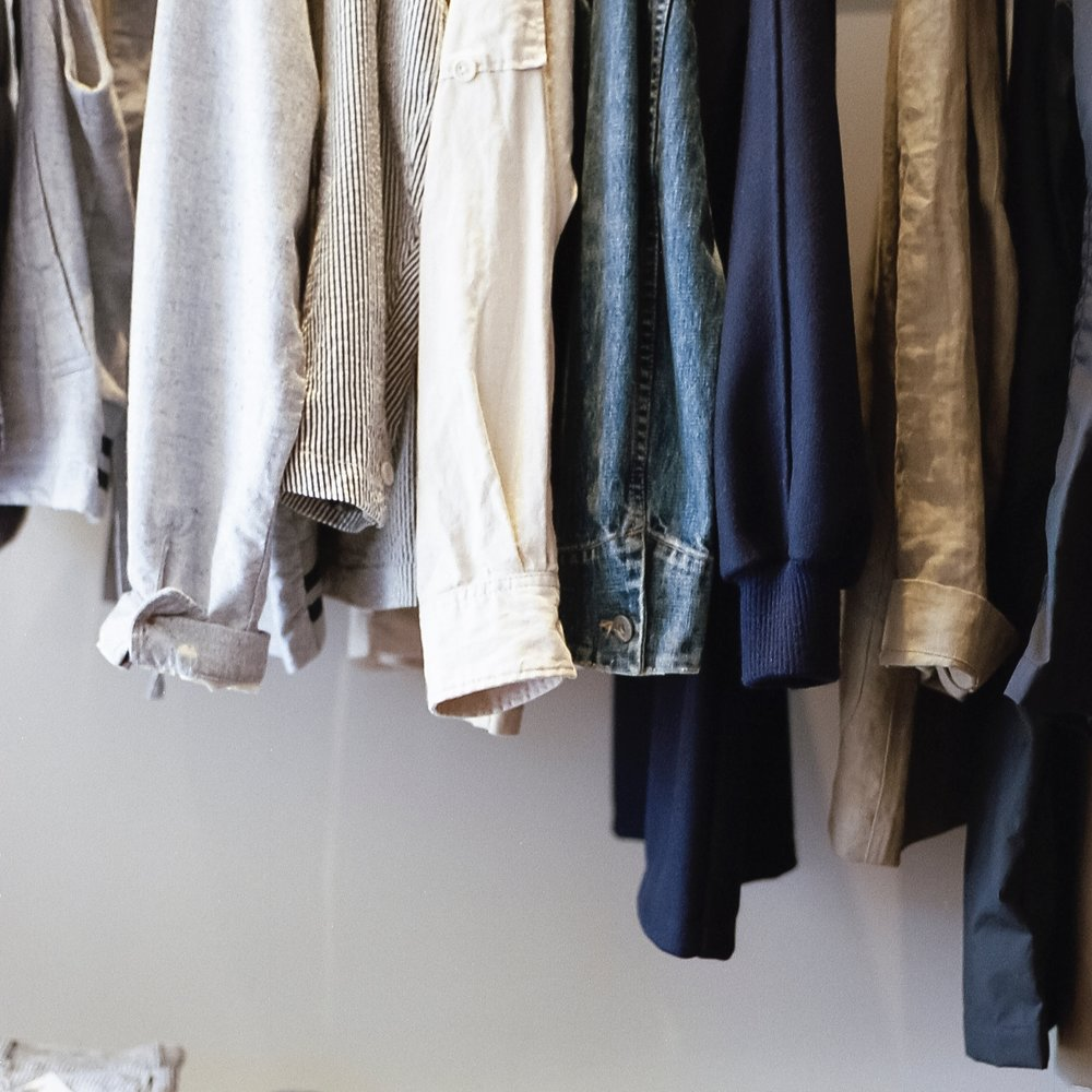 Clean out your closet(s)