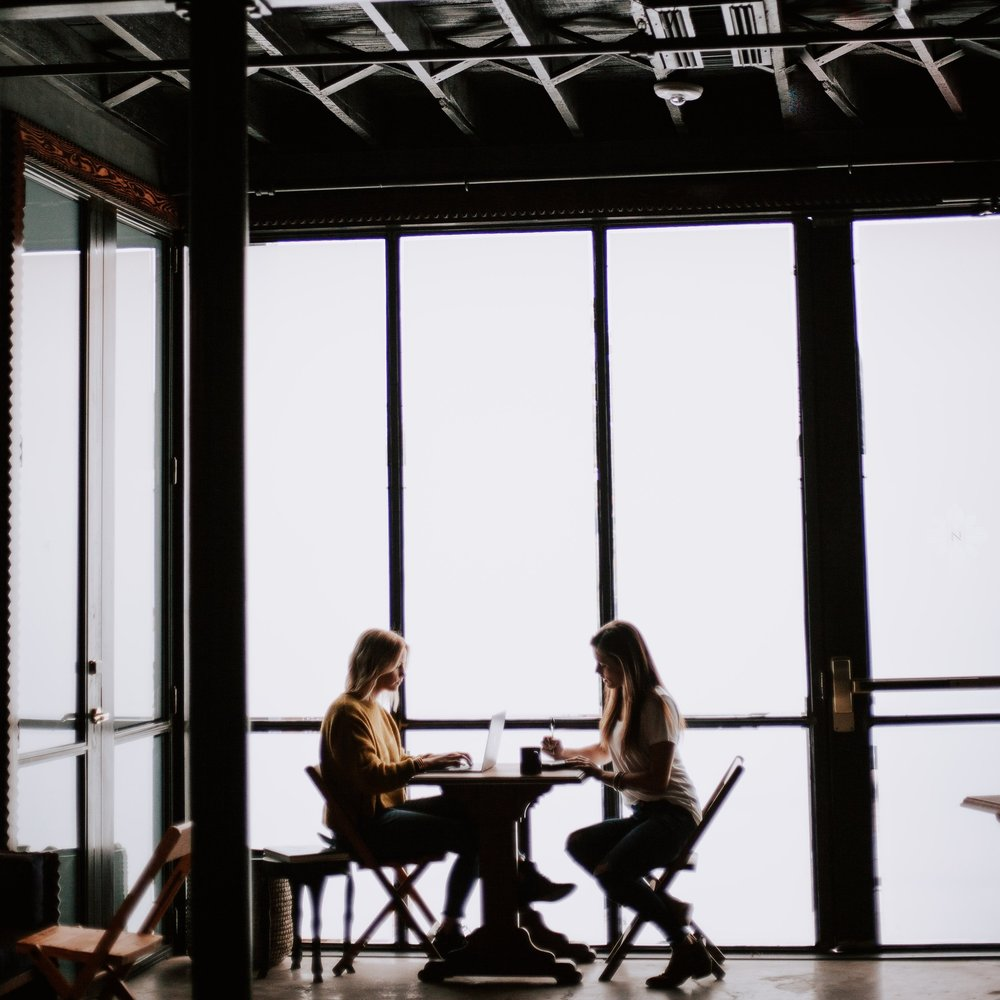 Make a list of your dream clients & mentors