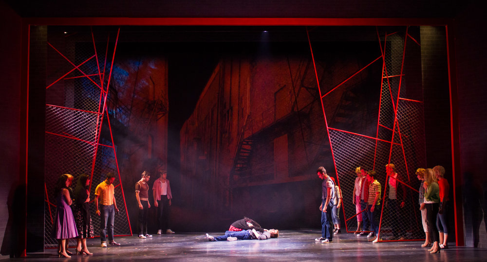 West Side Story - projections