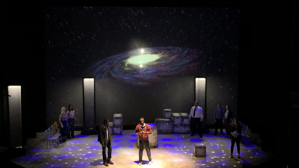 The Curious Incident of The Dog in The Night-Time - projections