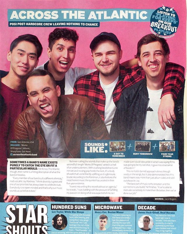 Rad write up from the dudes at @rocksound ❤️🙌🏼