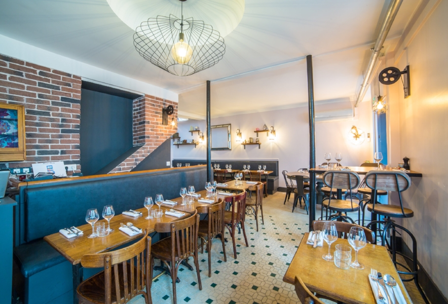 La Salle du restaurant Friends & Family
