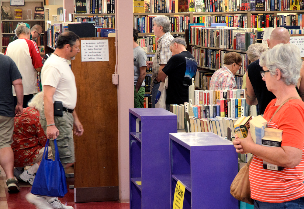 Buy our books! - You'll be amazed at the low prices and the great selection of books, CDs, DVDs, audio books, vinyl, and more at our monthly book sales. You can also buy books online!