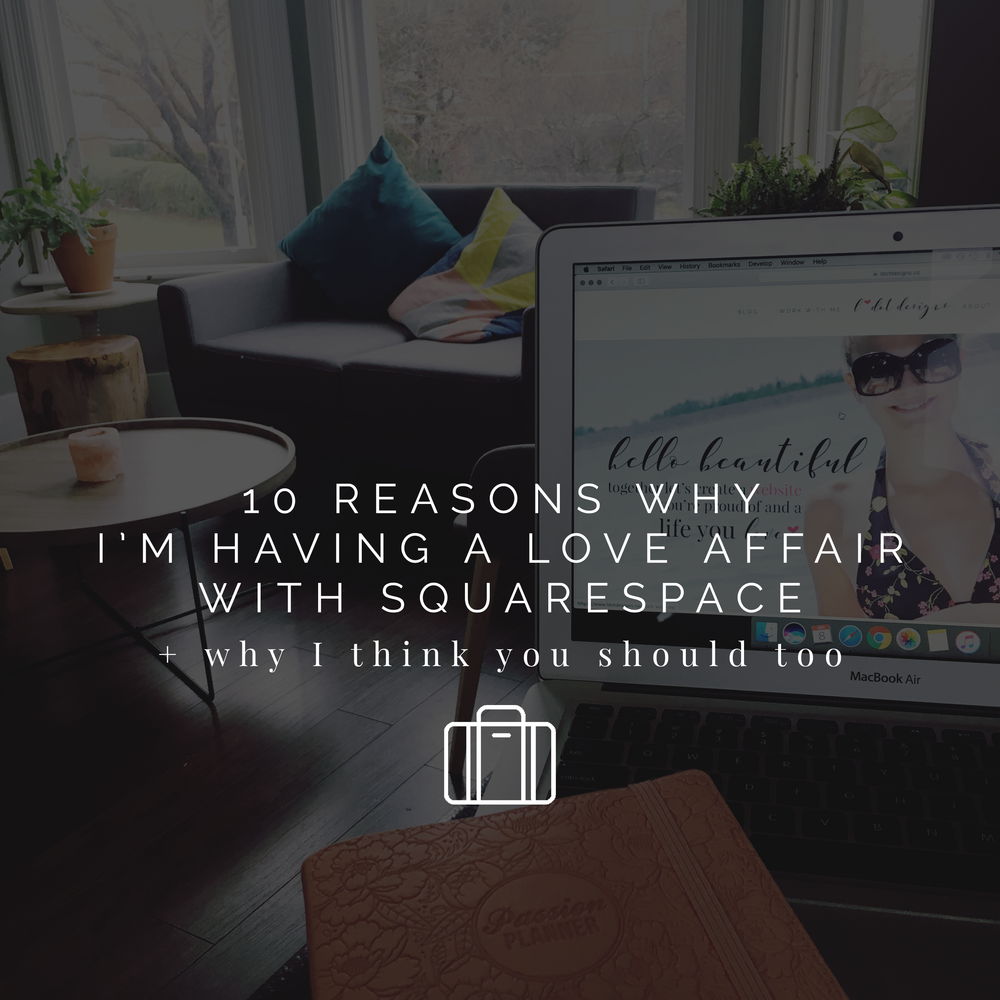 Why I love Squarespace