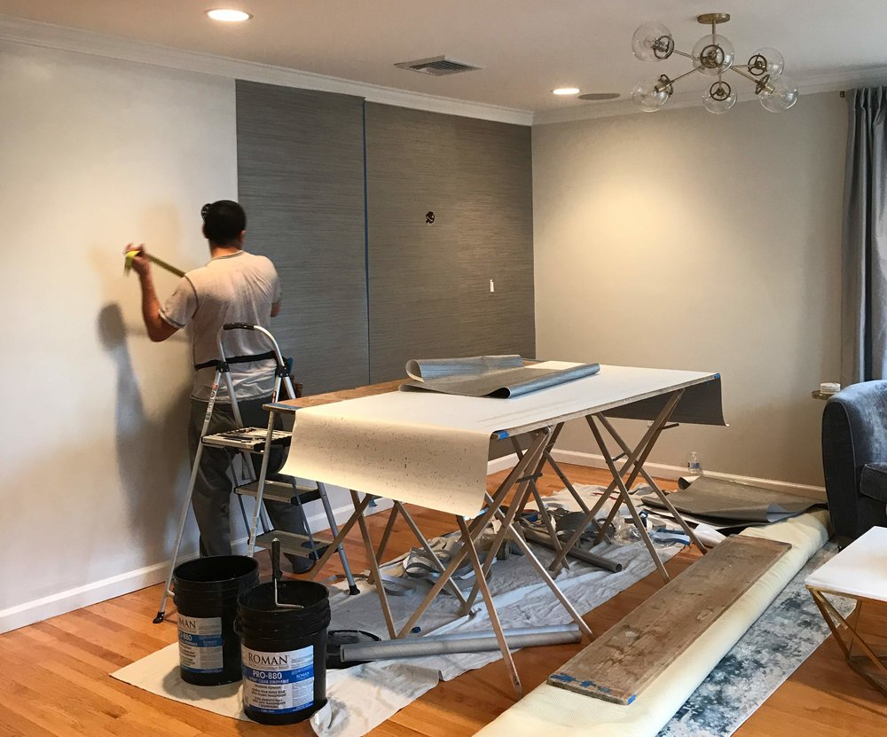 ORC Week 5 - Dining Room to Sitting Room Willow House makeover // IQ Design