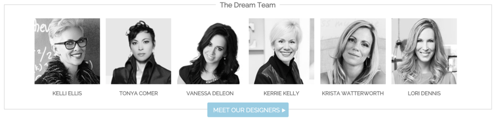 These are just a few of the Designers they have worked with!