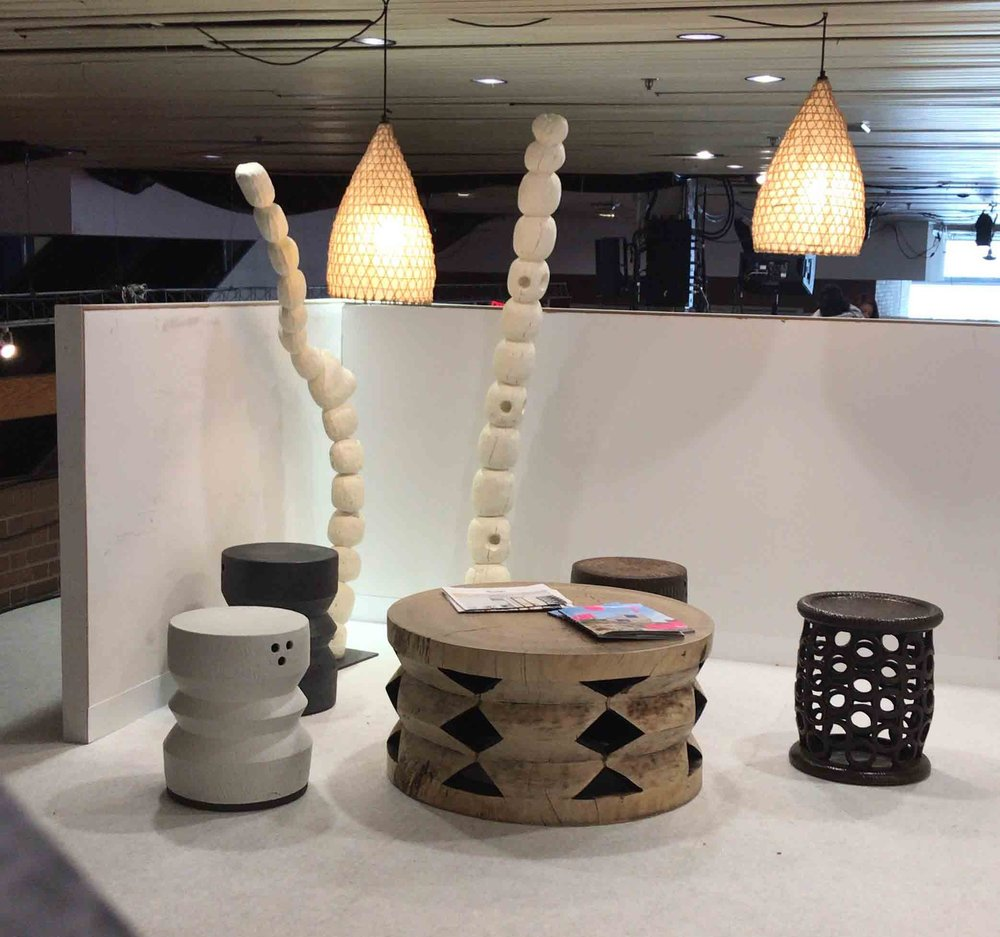 NASURI  on display upstairs at the DIFFA'S DINING BY DESIGN.
