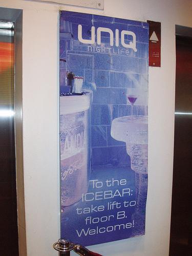 Uniq and the Ice Bar