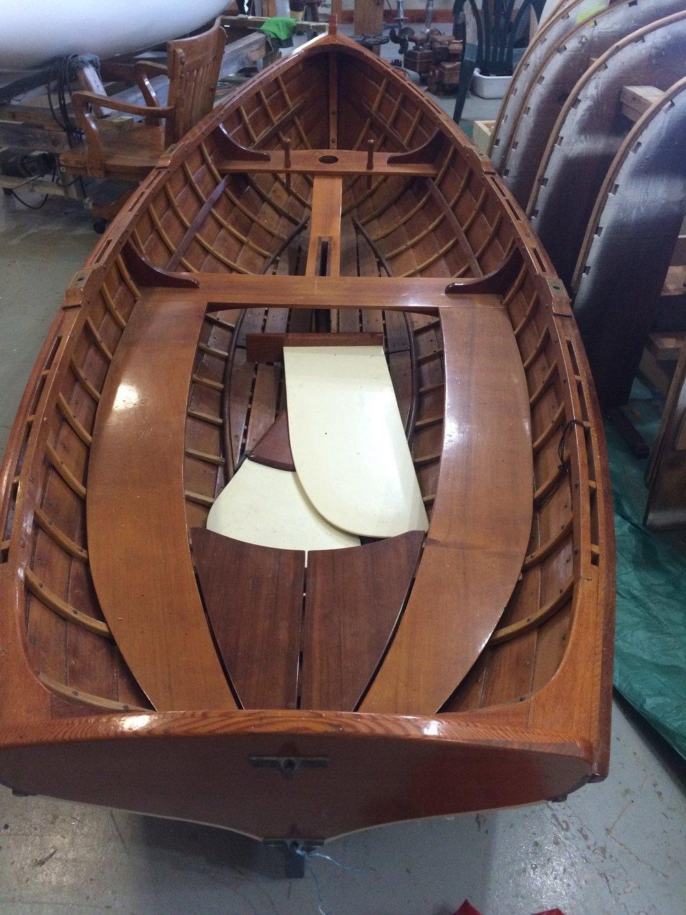 12' Carvel Sailboat $6,250