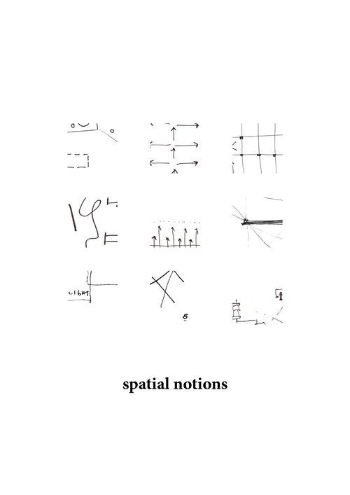 Sophie Weston Chien SPATIAL NOTIONS Best Spatial Organizational Pattern