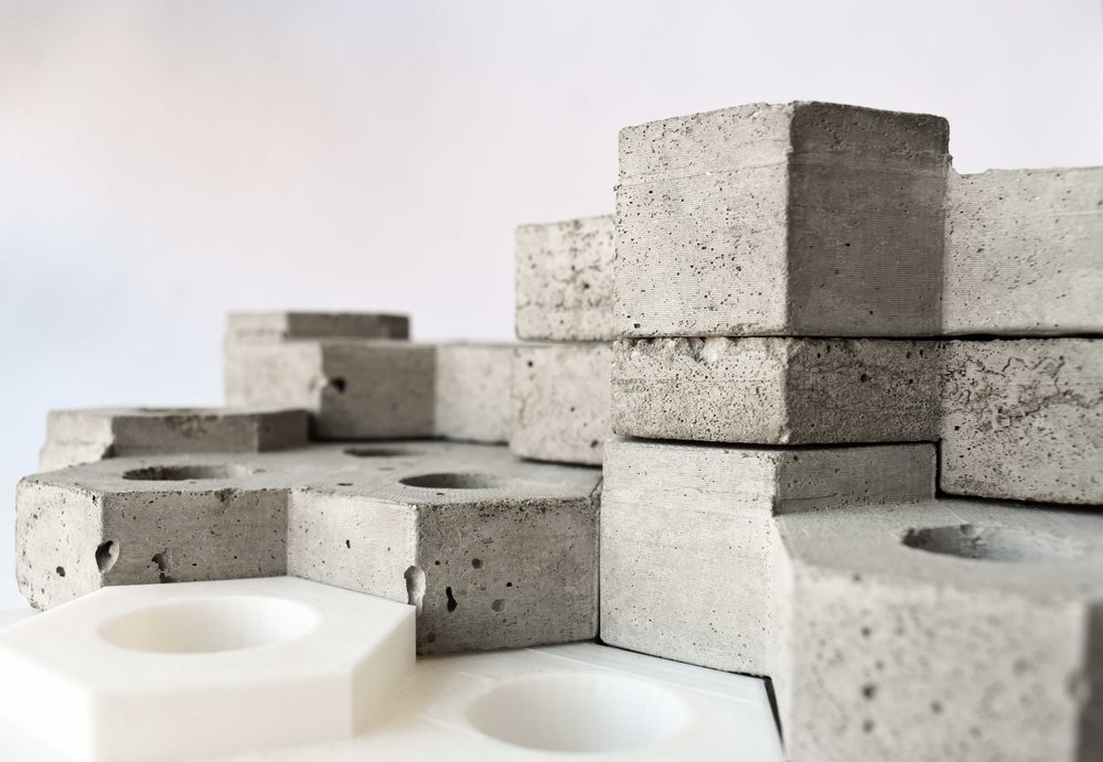 Concrete / 3D Printed Modules