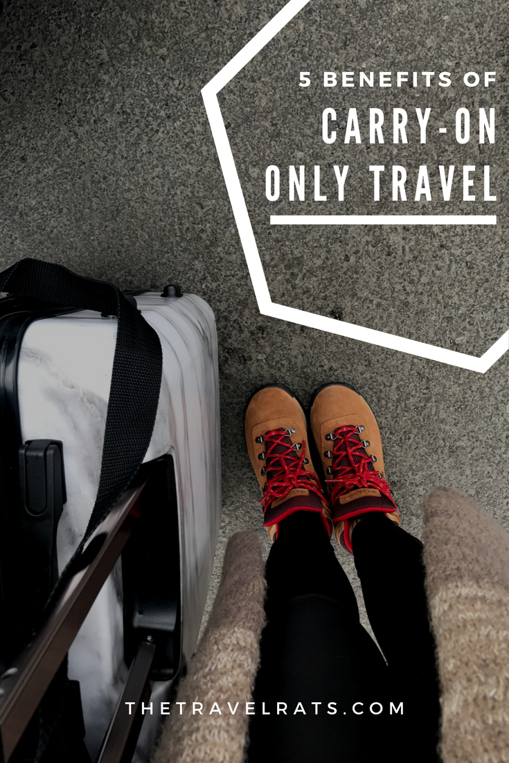 5 Benefits of Carry-on Only Travel