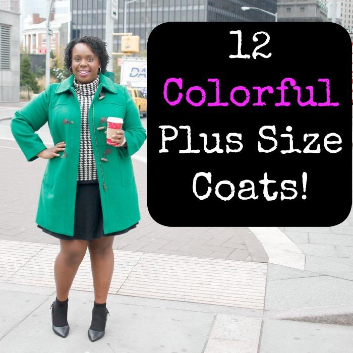 12 Colorful Plus Size Coats