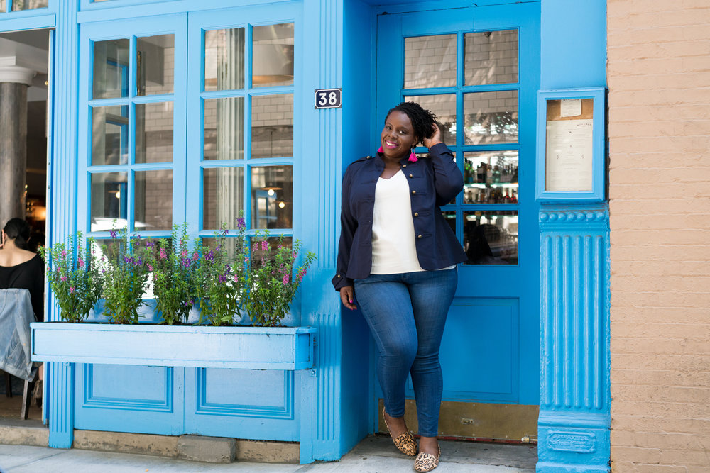CeCe Olisa Plus Size Fall Transition Outfits