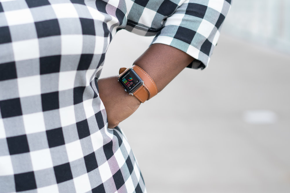Leather Apple Watch Band Women Hermes