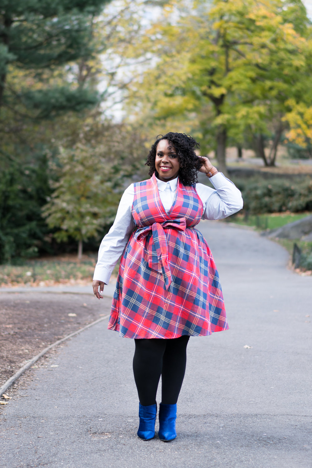 PLUS SIZE FALL OUTFIT CECEOLISA.COM
