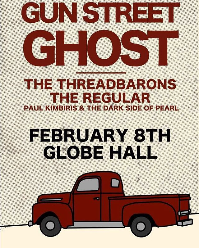 We're playing an great show with @gunstreetghost in Feb 8th at @globehalldenver. This is a must see show.