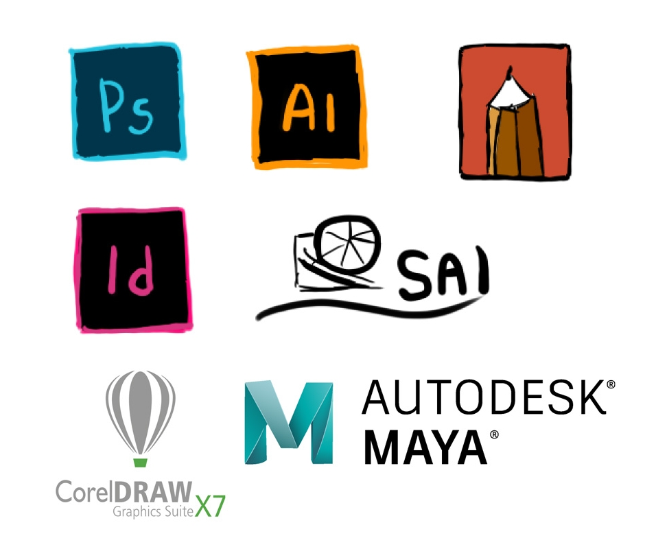 - ....Compatibility with an array of popular graphic applications such as Photoshop, Illustrator, MAYA, Corel Painter, and many more, ensure that illustrators and retouchers can use WoodPad with their favorite creative software. Combining WoodPad with Microsoft Ink allows you to write notes directly onto Word documents. .. WoodPad 支援 Photoshop、Illustrator、MAYA、Corel Painter 等各種熱門繪圖應用程式,確保插畫家和修圖師能夠搭配使用喜愛的創意軟體。WoodPad 搭配 Microsoft 連結使用後,可直接在 Word 文件上寫筆記。.. WoodPad 支持 Photoshop、Illustrator、MAYA、Corel Painter 等各种热门绘图应用程序,确保插画家和修图师能够搭配使用喜爱的创意软件。WoodPad 搭配 Microsoft 连结使用后,可直接在 Word 文件上写笔记。....
