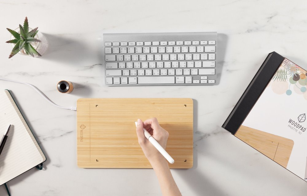 WoodPad Palette 10